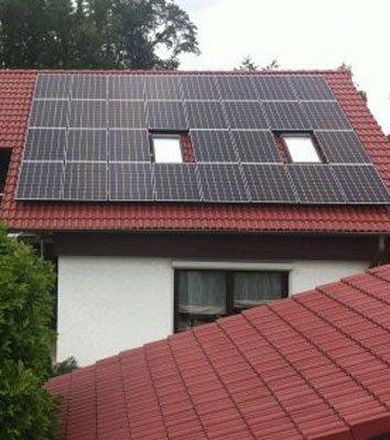 Selbstversorgung durch Solarmodule