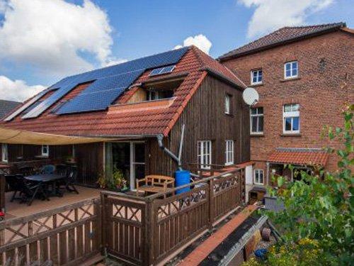 Photovoltaikanlage für ein Mehrfamilienhaus