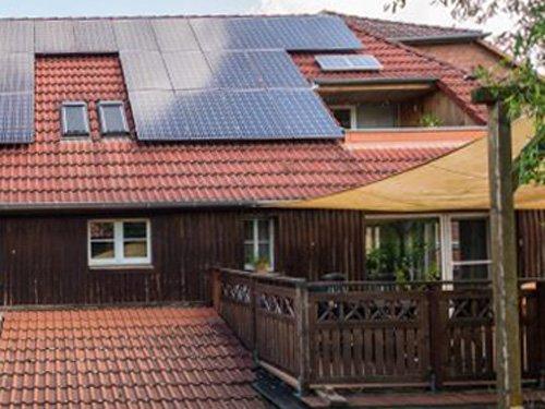 Neue Anlage produziert 7,28 kWp.