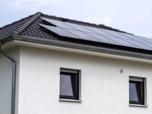 Photovoltaikanlage auf Neubau in Detmold