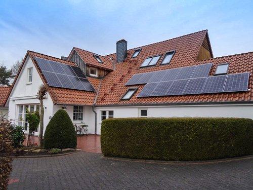 Photovoltaikanlage Fachwerkhaus