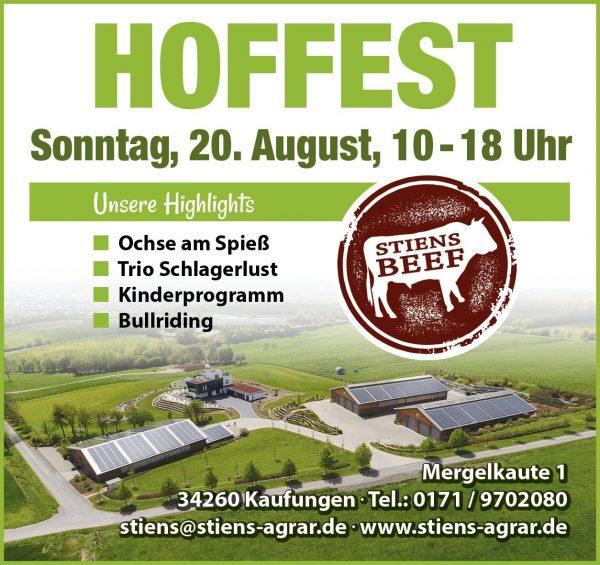 Hoffest Stiens Agrar
