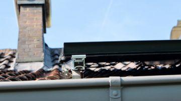 Dach mit Verankerung für Solaranlage