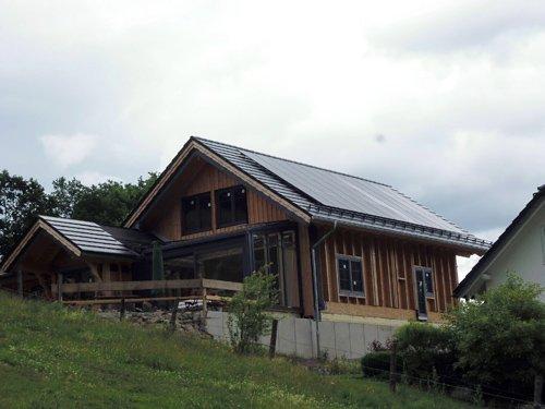 Photovoltaikanlage auf Einfamilienhaus Brilon