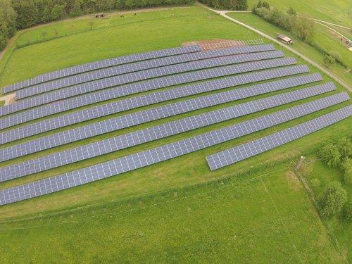 Photovoltaikanlage in Hessisch Lichtenau