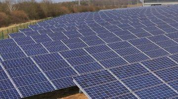 Gewerbliche Photovoltaikanlage