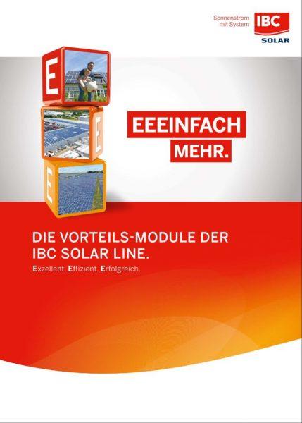 thumbnail of EEEINFACH MEHR – Die Vorteils-Module von IBC SOLAR