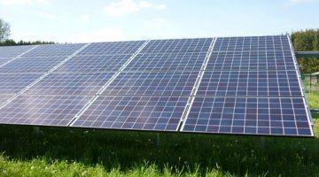 2.678 Module stehen im Solarpark