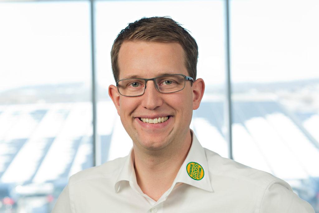Geschäftsführer Björn Groß