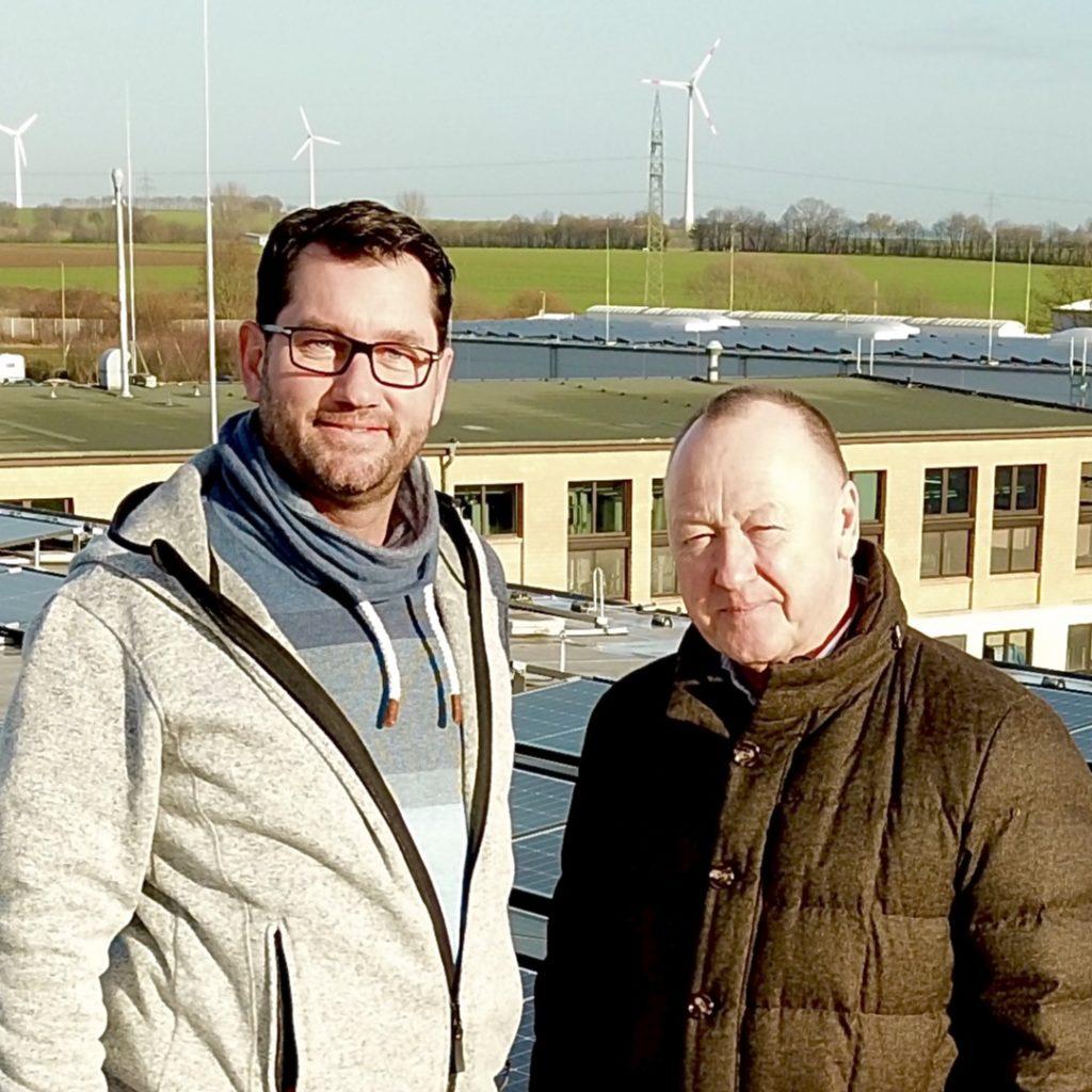 Andreas Schafmeister mit Kundem